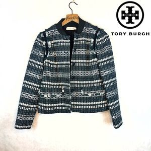 TORY BURCH | RARE Sequin Tweed Blazer Jacket